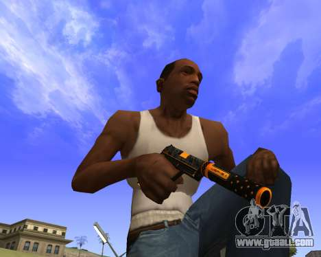 Skins Weapon pack CS:GO for GTA San Andreas