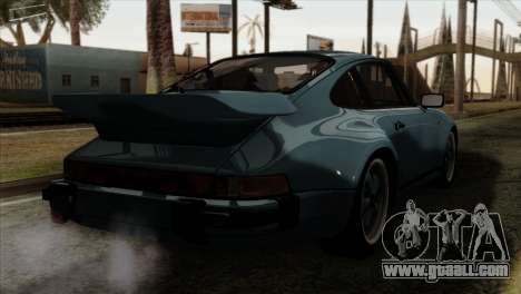 Porsche 911 Turbo 3.3 Coupe 930 1981 for GTA San Andreas left view