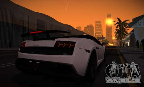 ENB by Dmitriy30rus for weak PC for GTA San Andreas forth screenshot