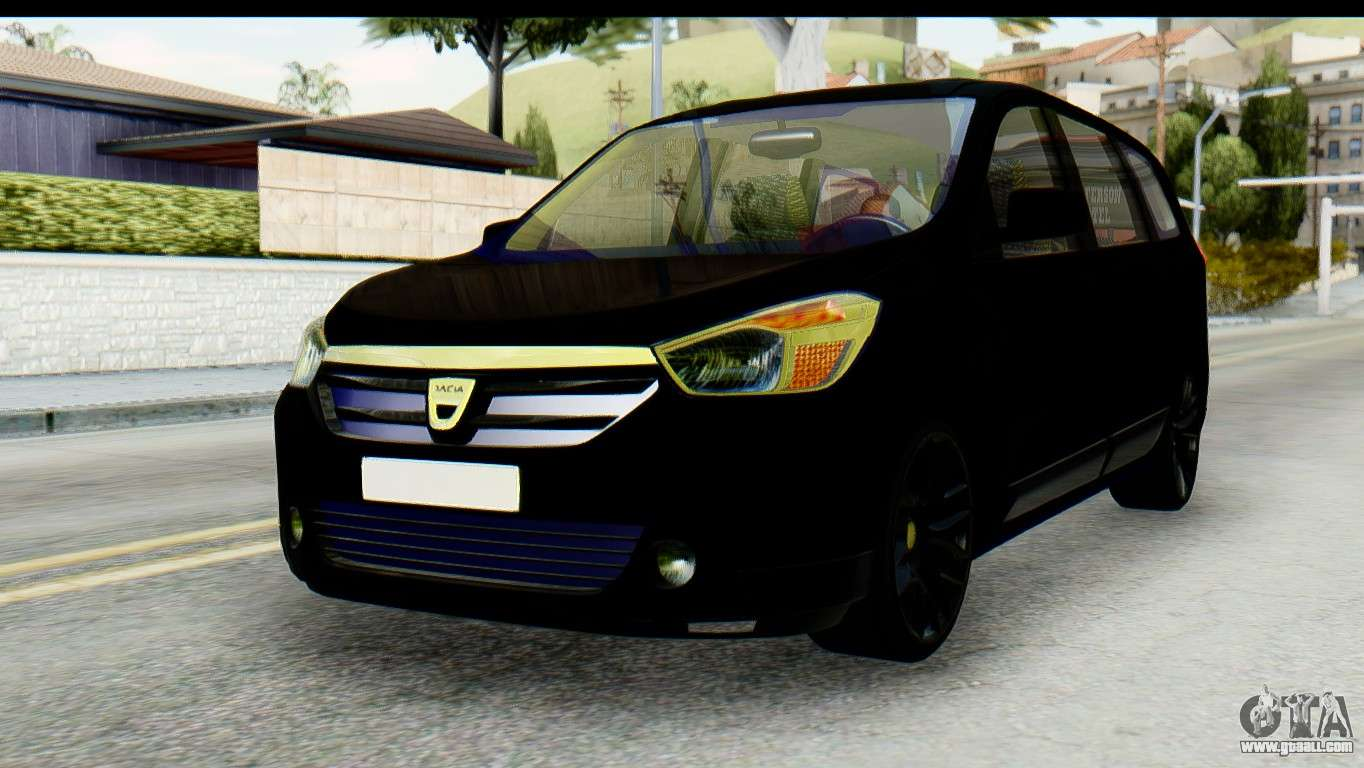 dacia lodgy for gta san andreas. Black Bedroom Furniture Sets. Home Design Ideas