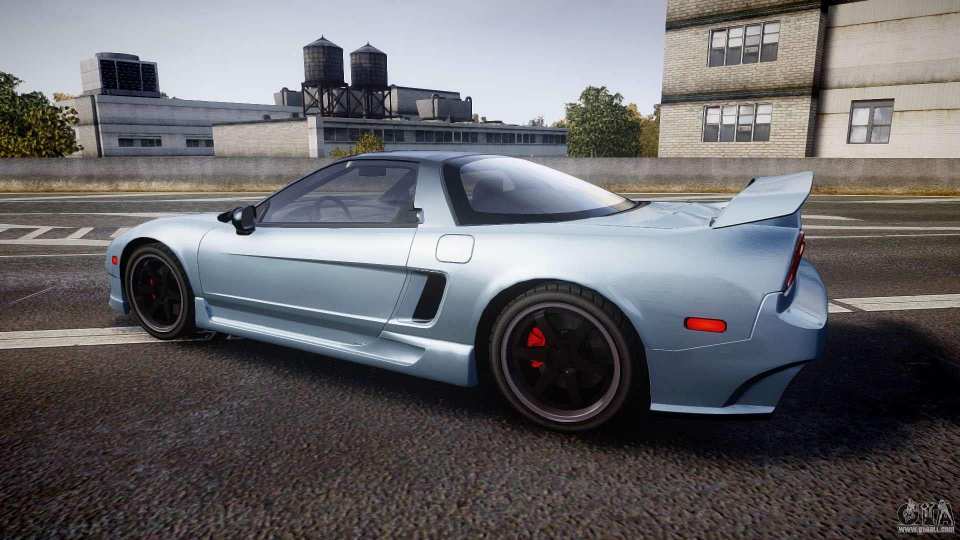 Honda NSX 1998 EPM for GTA 4
