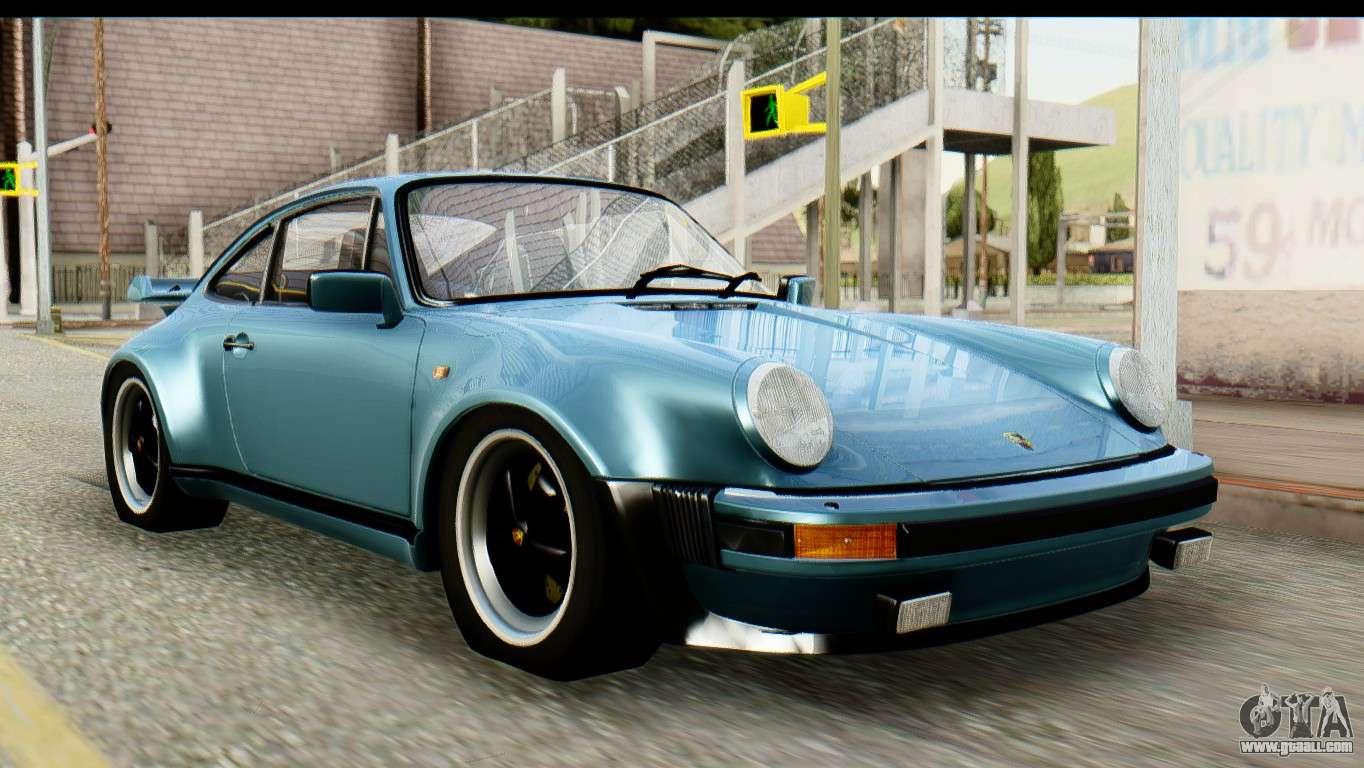 Porsche 911 turbo 33l 1981 tunable for gta san andreas vanachro Gallery