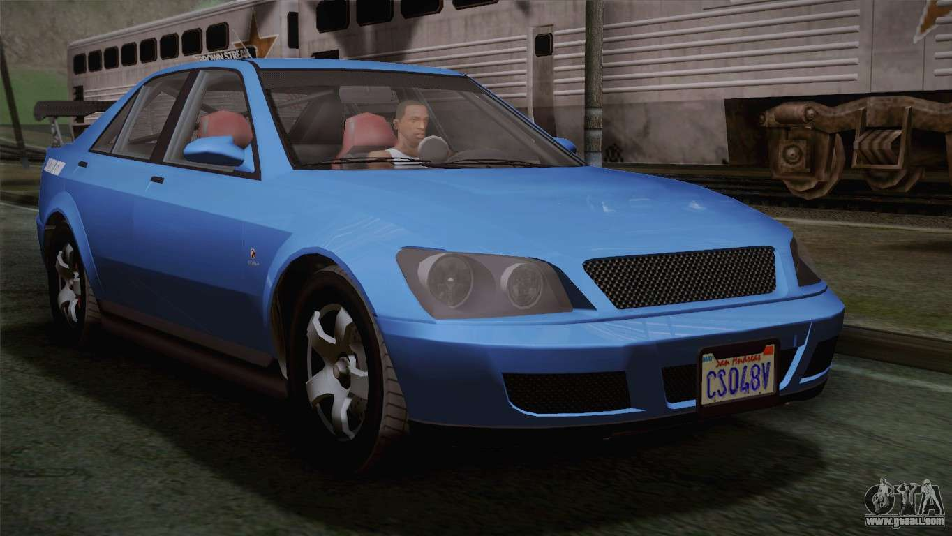 What Is A Sedan >> GTA 5 Karin Sultan IVF for GTA San Andreas