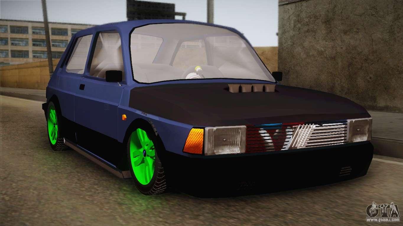 Fiat 147 tuning for gta san andreas