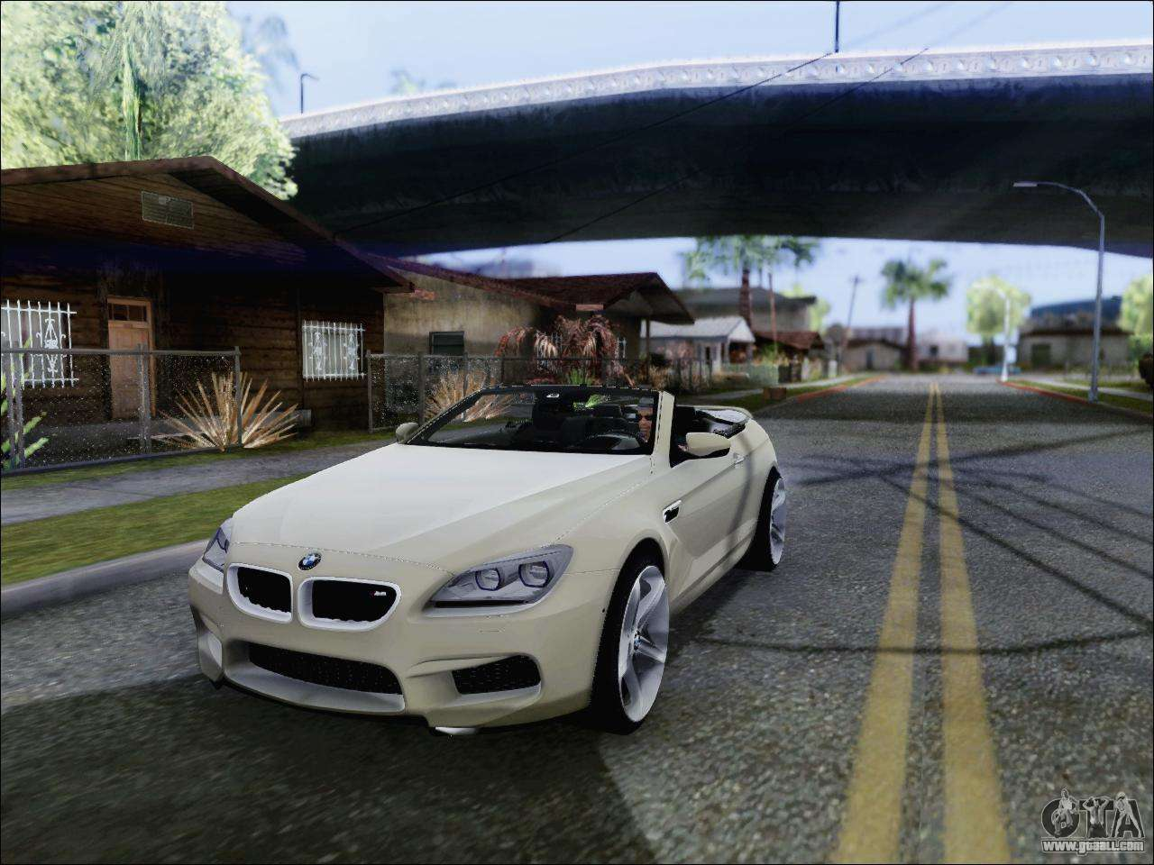 bmw m6 cabriolet 2012 for gta san andreas. Black Bedroom Furniture Sets. Home Design Ideas