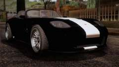 GTA 5 Invetero Coquette v2 IVF for GTA San Andreas