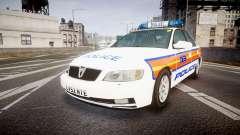 Vauxhall Omega Metropolitan Police [ELS] for GTA 4