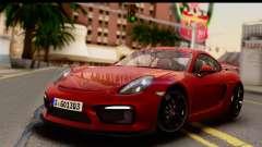 Porsche Cayman GT4 981c 2016 EU Plate
