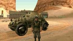 SdKfz.222 for GTA San Andreas