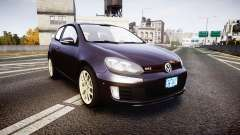 Volkswagen Golf Mk6 GTI rims2 for GTA 4