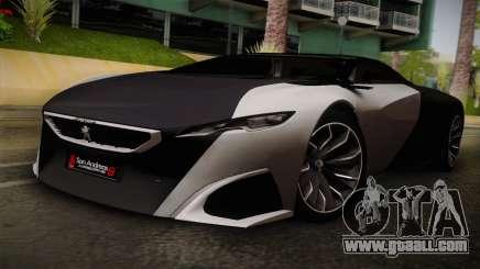 Peugeot Onyx for GTA San Andreas
