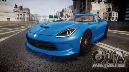 Dodge Viper SRT 2013 rims2 for GTA 4