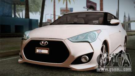 Hyundai Veloster 2012 Autovista for GTA San Andreas