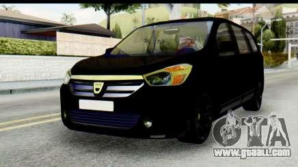 Dacia Lodgy for GTA San Andreas