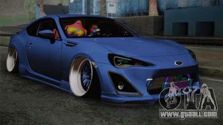 Subaru BRZ for GTA San Andreas