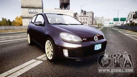 Volkswagen Golf Mk6 GTI rims2 for GTA 4