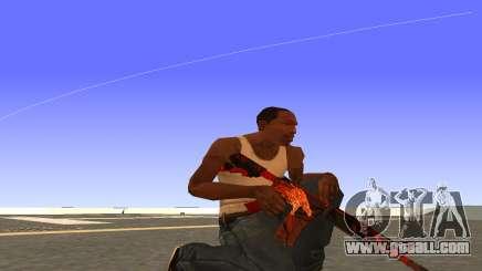M4A4 Вой CS:GO for GTA San Andreas