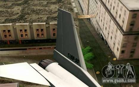 Mitsubishi F-2 Original JASDF Skin for GTA San Andreas back left view