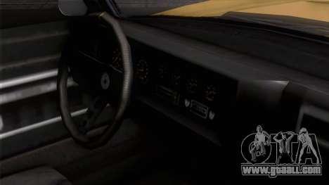 GTA 5 Invetero Coquette Classic HT IVF for GTA San Andreas right view