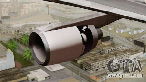 Lookheed L-1011 United Als for GTA San Andreas right view