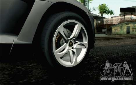 Lamborghini Urus Concept for GTA San Andreas back left view