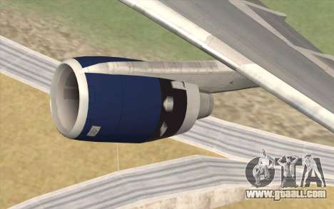 Lookheed L-1011 British Airways for GTA San Andreas right view