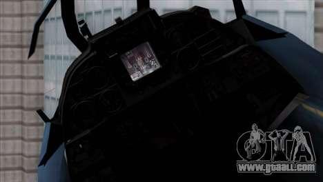 F-14 Japan Air Self Defense Force for GTA San Andreas right view