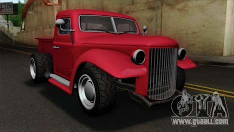 GTA 5 Bravado Rat-Truck IVF for GTA San Andreas