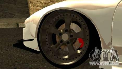 Honda NSX Street Killer for GTA San Andreas back left view
