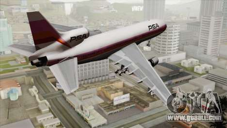Lookheed L-1011 PSA for GTA San Andreas left view