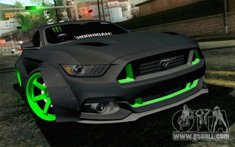 Ford Mustang 2015 Monster Edition for GTA San Andreas