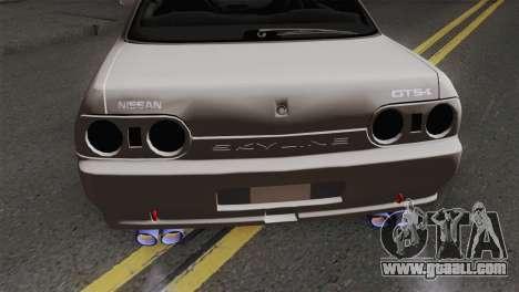 Nissan Skyline R32 Drift JDM for GTA San Andreas back view