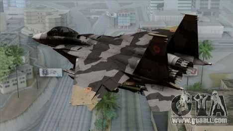 F-15E Yellow Squadron for GTA San Andreas left view