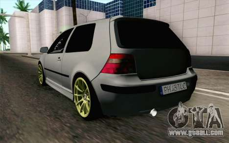Volkswagen Golf Mk4 2002 Street Daily for GTA San Andreas left view