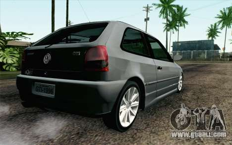 Volkswagen Golf GL for GTA San Andreas left view