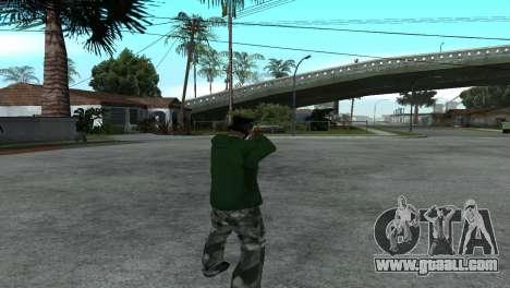 Gold Desert Eagle for GTA San Andreas third screenshot