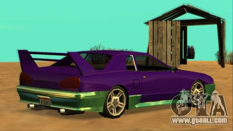 Luni Elegy FIXED for GTA San Andreas right view
