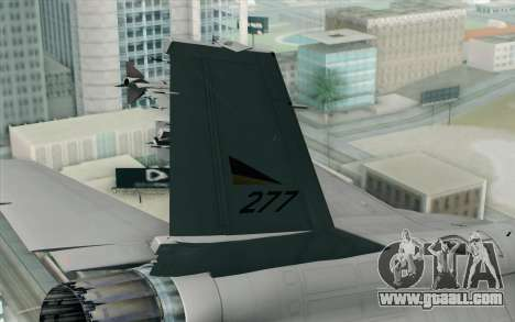 F-16 Fighting Falcon RNoAF PJ for GTA San Andreas back left view