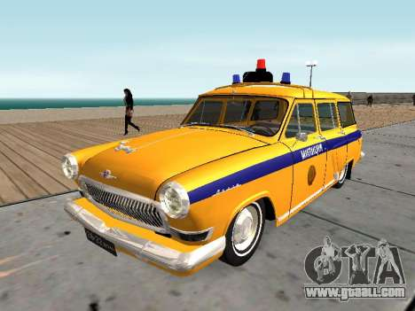 GAS 22 the Soviet police for GTA San Andreas
