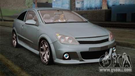 Opel Astra OPC Stock for GTA San Andreas