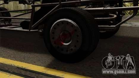 GTA 5 Space Docker for GTA San Andreas back view