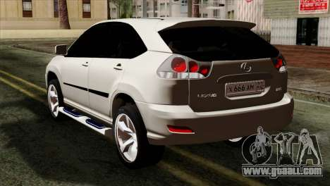 Lexus RX350 2009 for GTA San Andreas left view