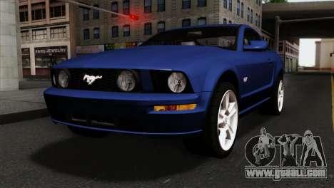 Ford Mustang GT PJ Wheels 1 for GTA San Andreas