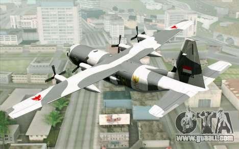 Lockheed C-130 Hercules Indonesian Air Force for GTA San Andreas left view