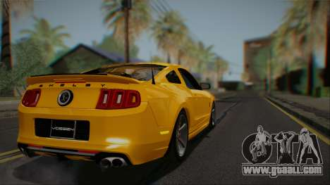 Ford Shelby GT500 2013 Vossen version for GTA San Andreas right view