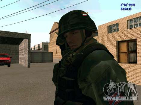 Warrior battalion East for GTA San Andreas third screenshot