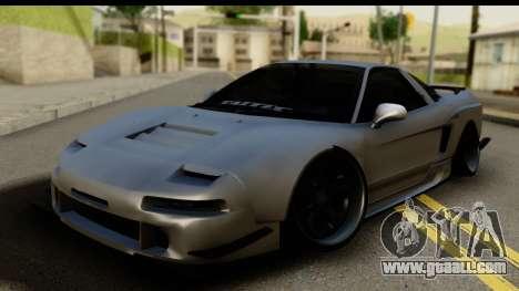 Honda NSX Street Killer for GTA San Andreas