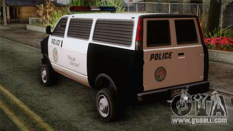 GTA 5 Police Transporter for GTA San Andreas