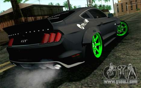 Ford Mustang 2015 Monster Edition for GTA San Andreas left view