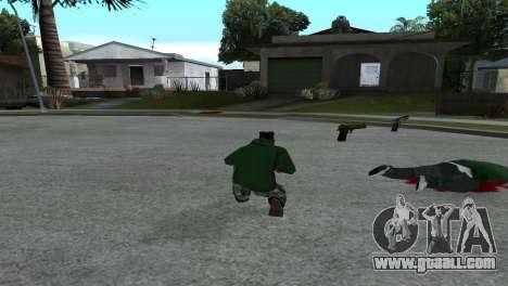 Gold Desert Eagle for GTA San Andreas second screenshot